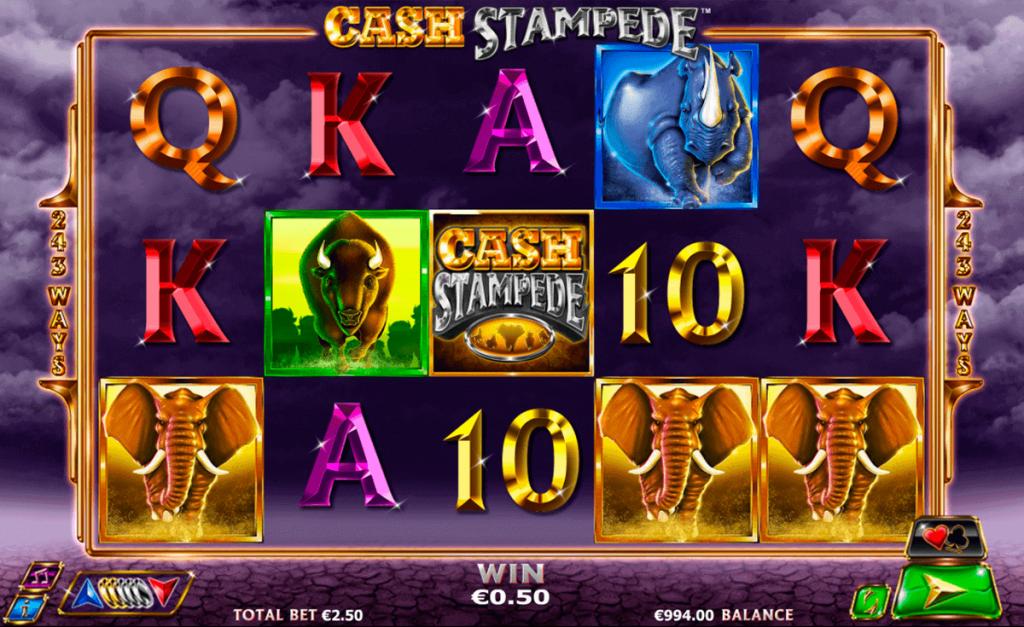 สล็อต น่ารู้ Cash Stampede Slot